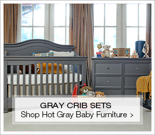 Shop Hot Gray Cribs and Nursery Sets